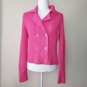 Isaac Mizrahi for Target double breasted blazer